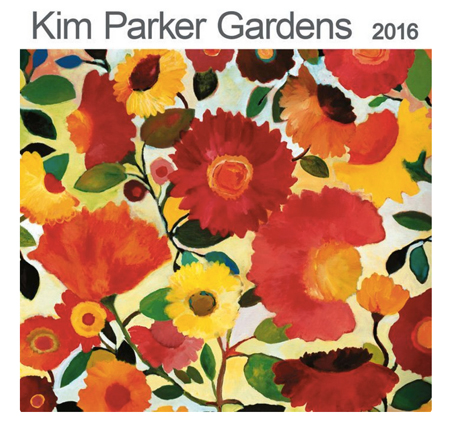 Kim Parker Gardens 2016 Calendar produced by Ziga Media.