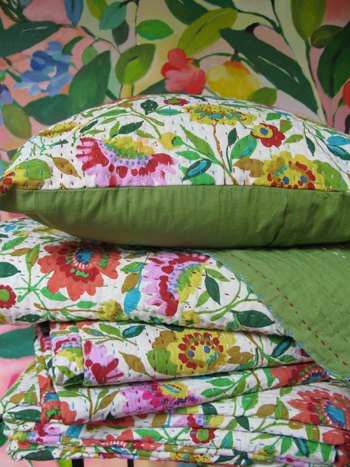 Kim Parker Home Kantha Bedding Collection
