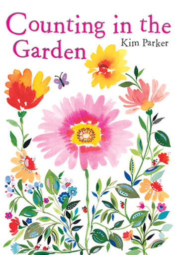 Counting in the Garden picture book by Kim Parker