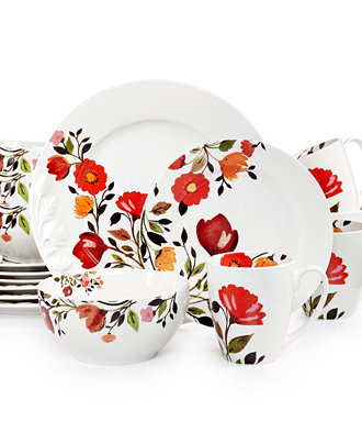 Kim Parker Red Tulips Tableware collection