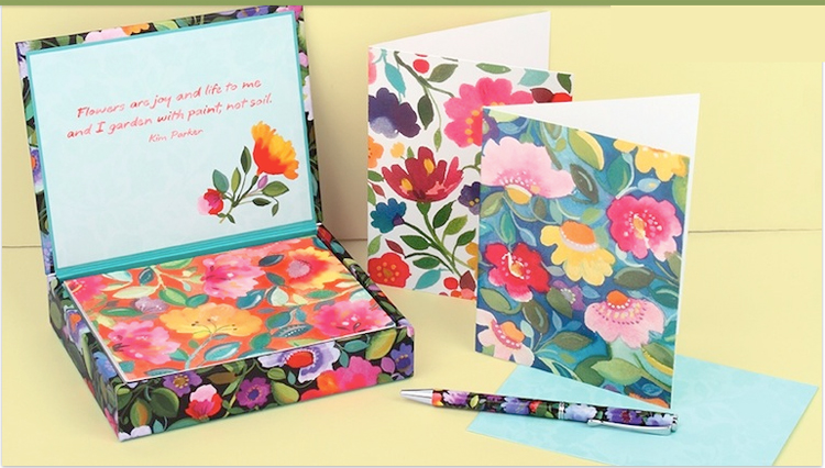 Kim Parker Stationery collection for Galison