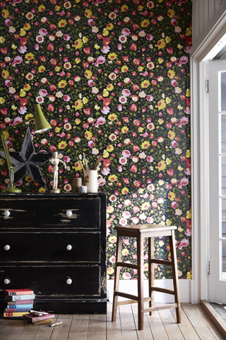 Kim Parker wallpaper collection for Clarke & Clarke.